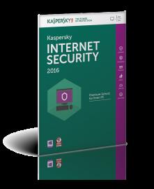 KASPERSKY Internet Security 2016, 3 PCs, 1 Jahr, FFP (Frustfreie Verpackung)
