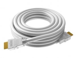 VISION TECHCONNECT 0.5m HDMI KABEL- Flexibles High-Speed Netzwerkkabel, 7,3 mm Durchmesser, HDMI 28 AWG, Kategorie 2 getestet