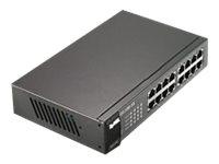 ZyXEL GS-1100-16, Switch, 16 Anschlüsse, Desktop