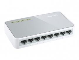 TP-LINK TL-SF1008D 8-Port 10/100Mbps Desktop Switch
