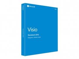 Microsoft Visio Standard 2016, Lizenz, 1 PC, Download, ESD, Click-to-Run, Win